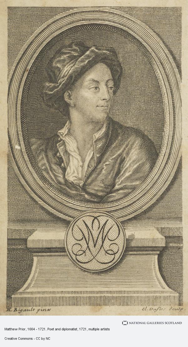 Claude Duflos, Matthew Prior, 1664 - 1721. Poet and diplomatist