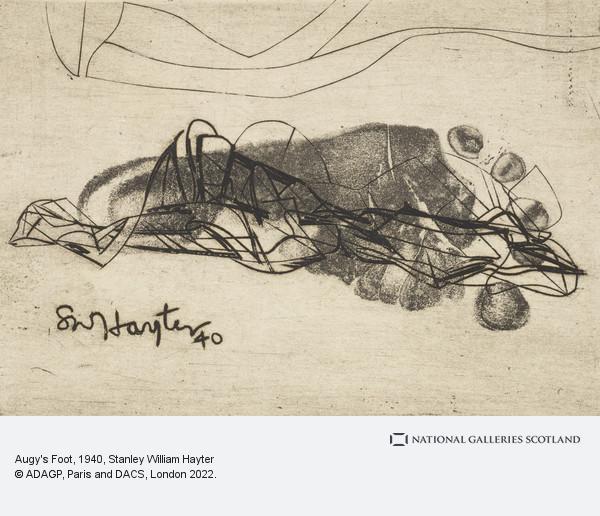Stanley William Hayter, Augy's Foot