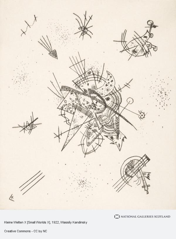 Wassily Kandinsky, Kleine Welten X [Small Worlds X]