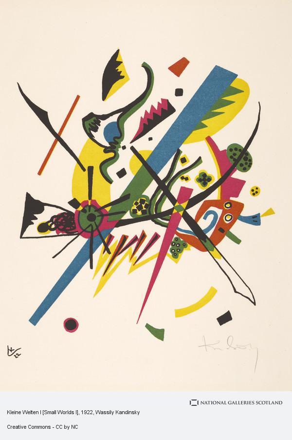 Wassily Kandinsky, Kleine Welten I [Small Worlds I]