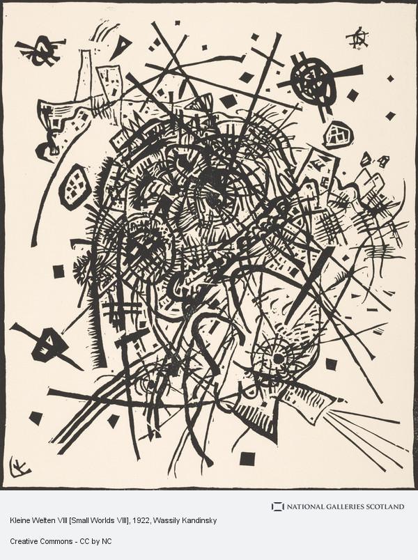Wassily Kandinsky, Kleine Welten VIII [Small Worlds VIII]