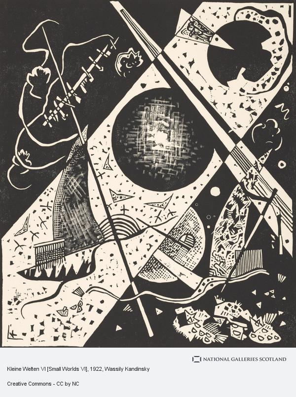 Wassily Kandinsky, Kleine Welten VI [Small Worlds VI]