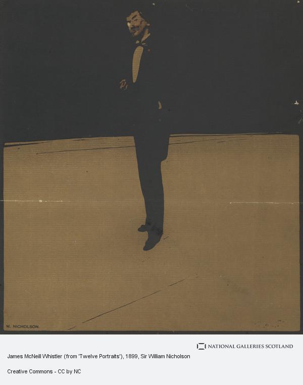 Sir William Nicholson, James McNeill Whistler (from 'Twelve Portraits')