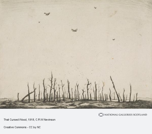 C.R.W Nevinson, That Cursed Wood