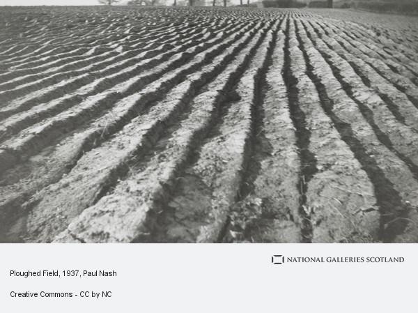 Paul Nash, Ploughed Field