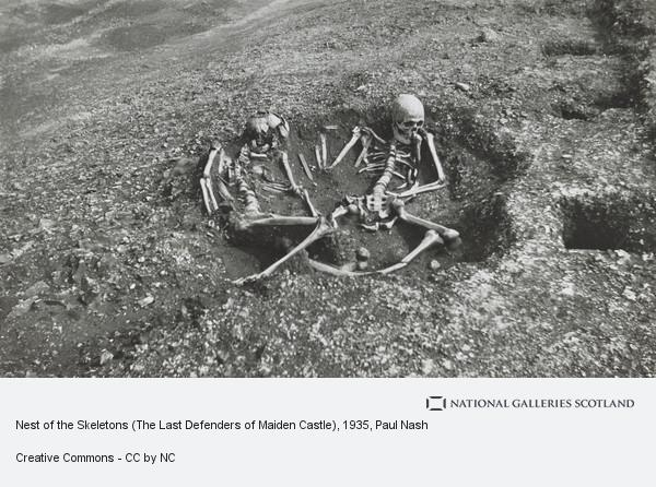 Paul Nash, Nest of the Skeletons (The Last Defenders of Maiden Castle)