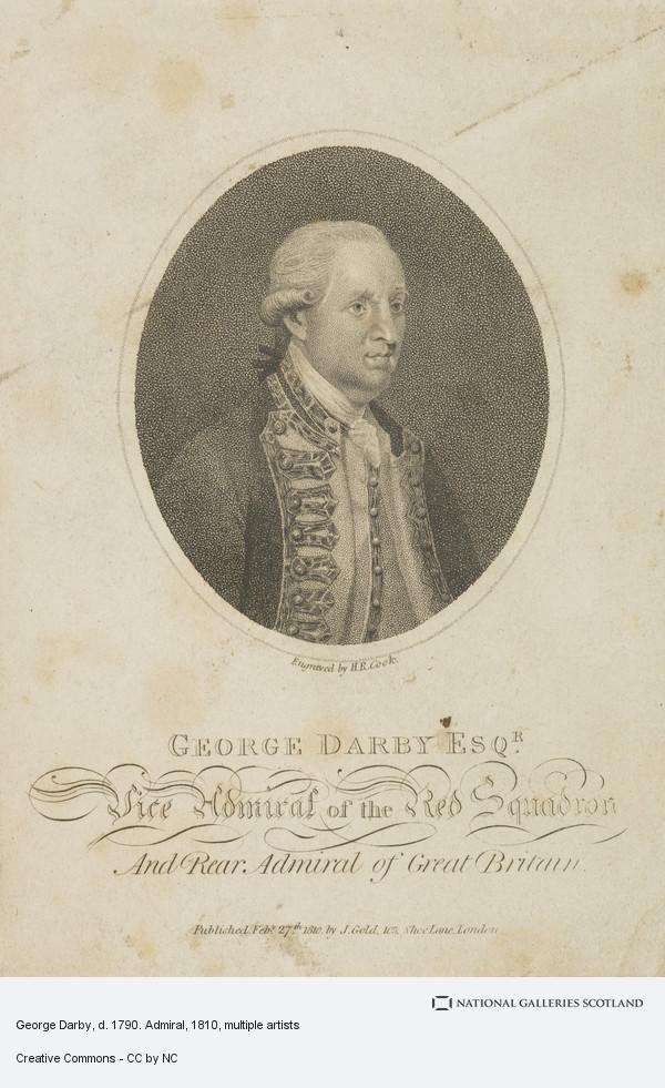 Henry Richard Cook, George Darby, d. 1790. Admiral