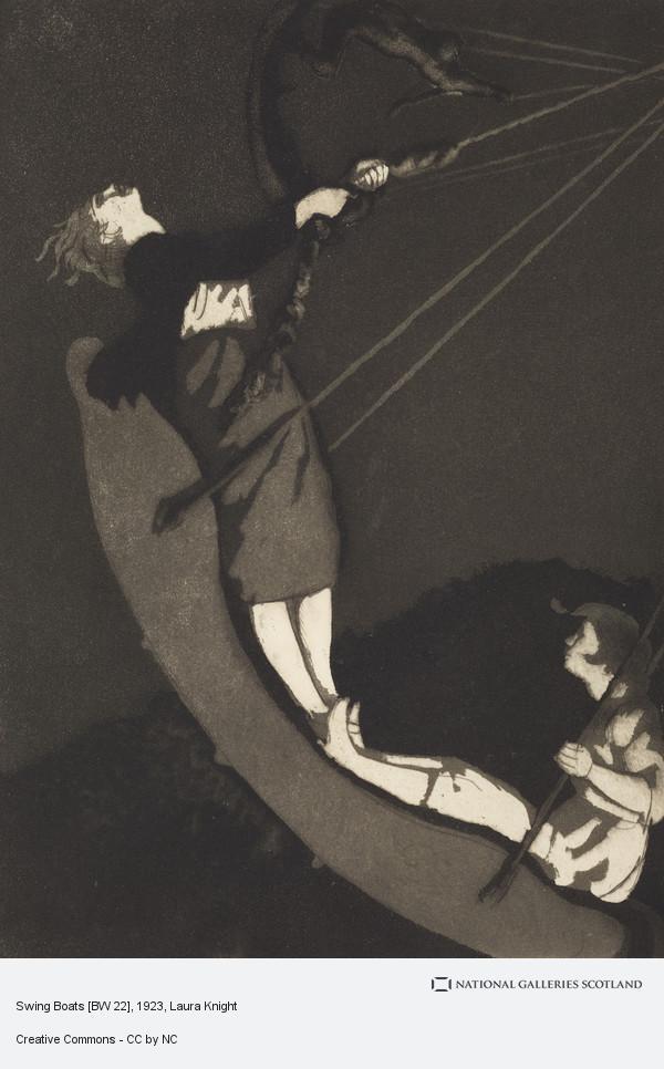 Laura Knight, Swing Boats [BW 22]
