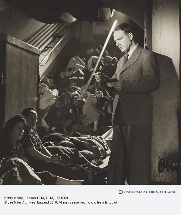 Lee Miller, Henry Moore, London 1943