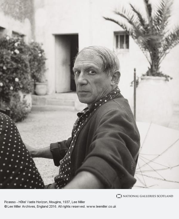 Lee Miller, Picasso - Hôtel Vaste Horizon, Mougins