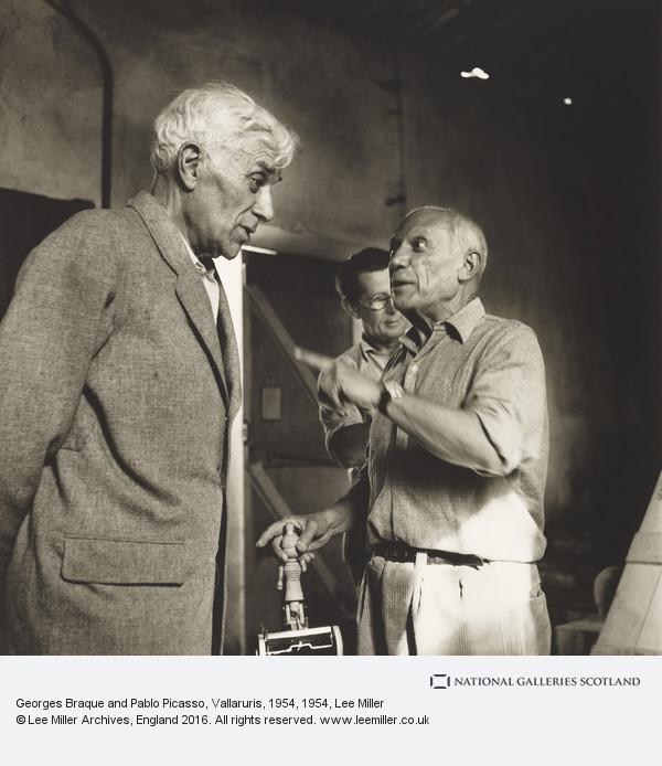 georges braque and pablo picasso vallaruris 1954 national