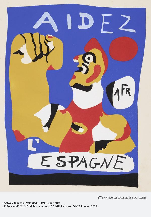 Aidez L Espagne Help Spain National Galleries Of Scotland