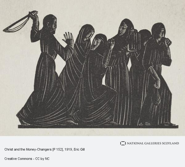 Eric Gill, Christ and the Money-Changers [P 152]