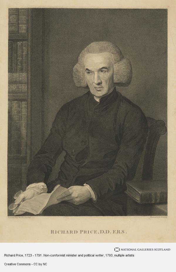 Thomas Holloway, Richard Price, 1723 - 1791. Non-conformist minister and political writer