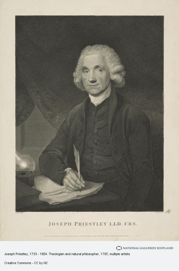 Thomas Holloway, Joseph Priestley, 1733 - 1804. Theologian and natural philosopher