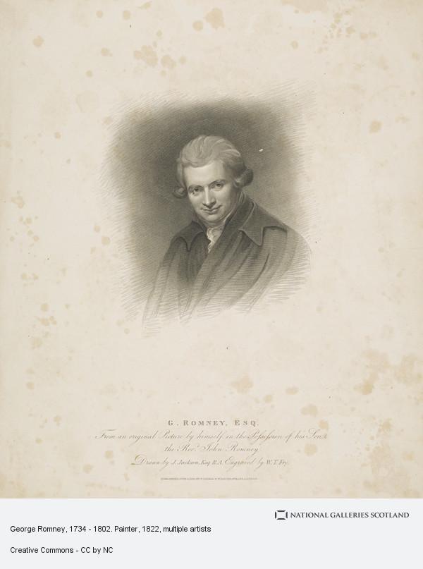 John Jackson, George Romney, 1734 - 1802. Painter