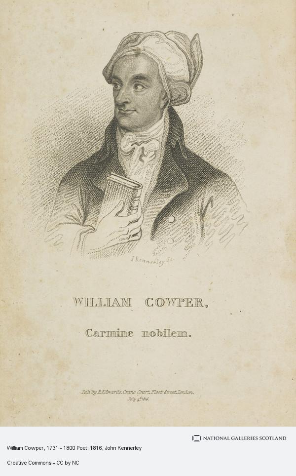 John Kennedy, William Cowper, 1731 - 1800 Poet