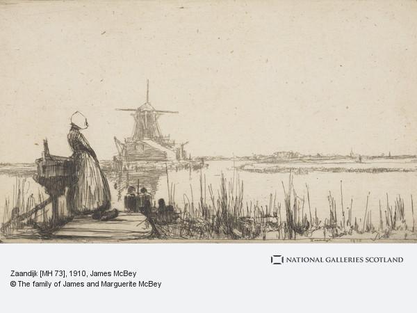 James McBey, Zaandijk [MH 73]