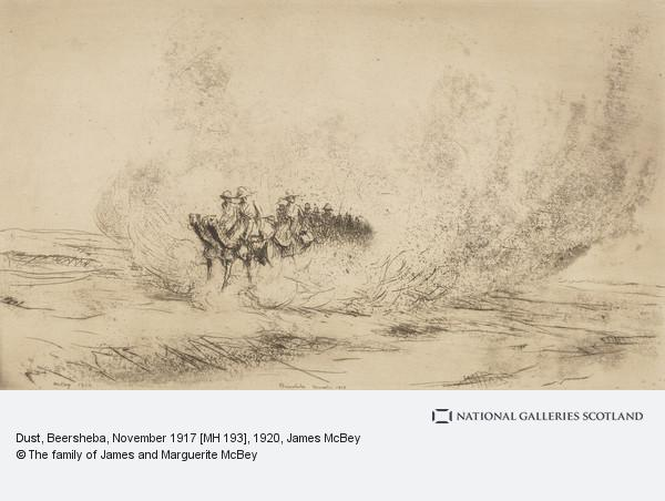 James McBey, Dust, Beersheba, November 1917 [MH 193]