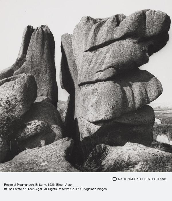 Eileen Agar, Rocks at Ploumenach, Brittany