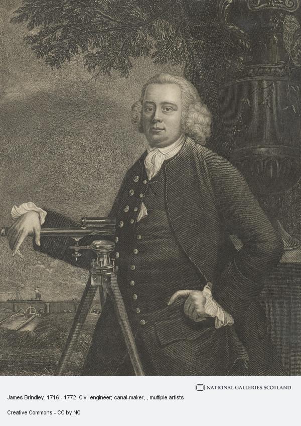 Henry Richard Cook, James Brindley, 1716 - 1772. Civil engineer; canal-maker