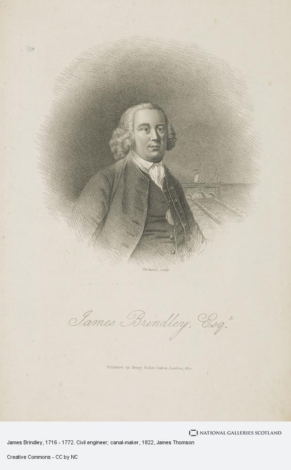 Thomson, James Brindley, 1716 - 1772. Civil engineer; canal-maker