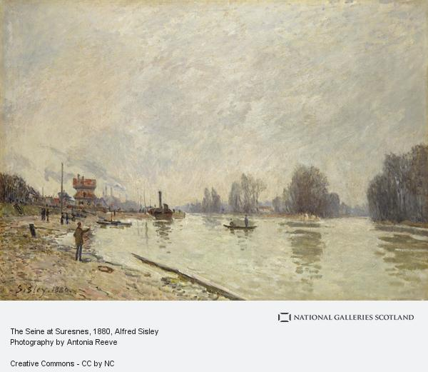 Alfred Sisley, The Seine at Suresnes