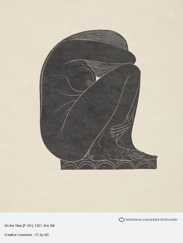 Eric Gill, On the Tiles [P 191]