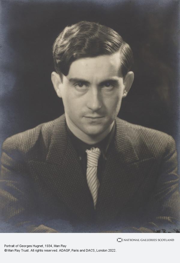 Man Ray, Portrait of Georges Hugnet
