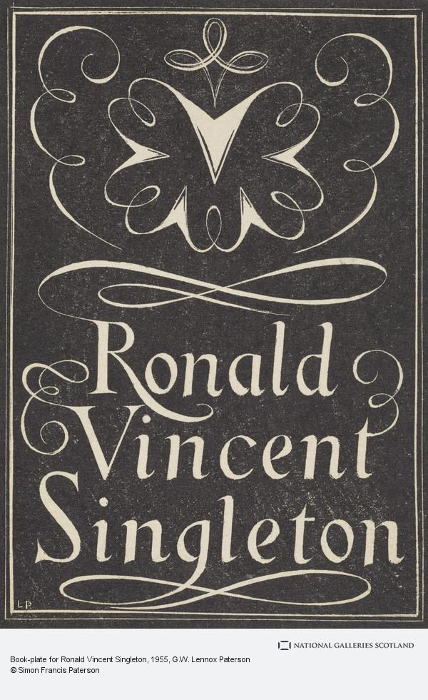 G.W. Lennox Paterson, Book-plate for Ronald Vincent Singleton