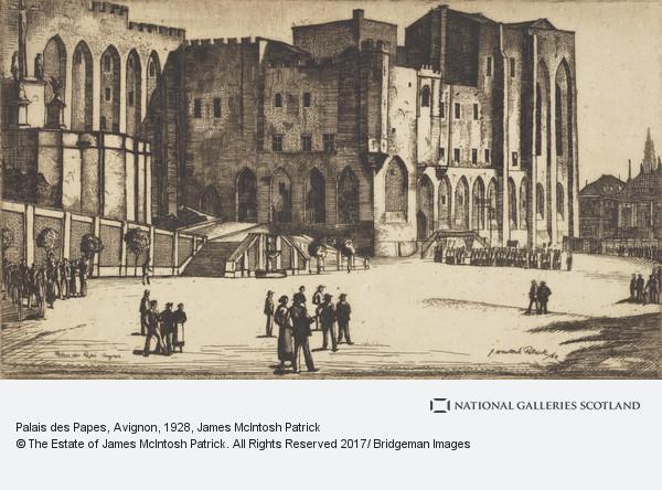 James McIntosh Patrick, Palais des Papes, Avignon