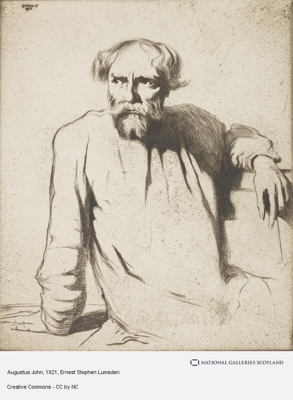 Ernest Stephen Lumsden, Augustus John