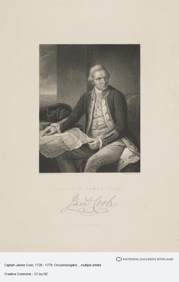 William Holl, Captain James Cook, 1728 - 1779. Circumnavigator
