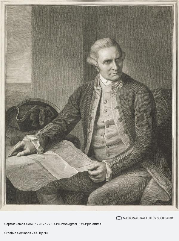 William Brassey Hole, Captain James Cook, 1728 - 1779. Circumnavigator