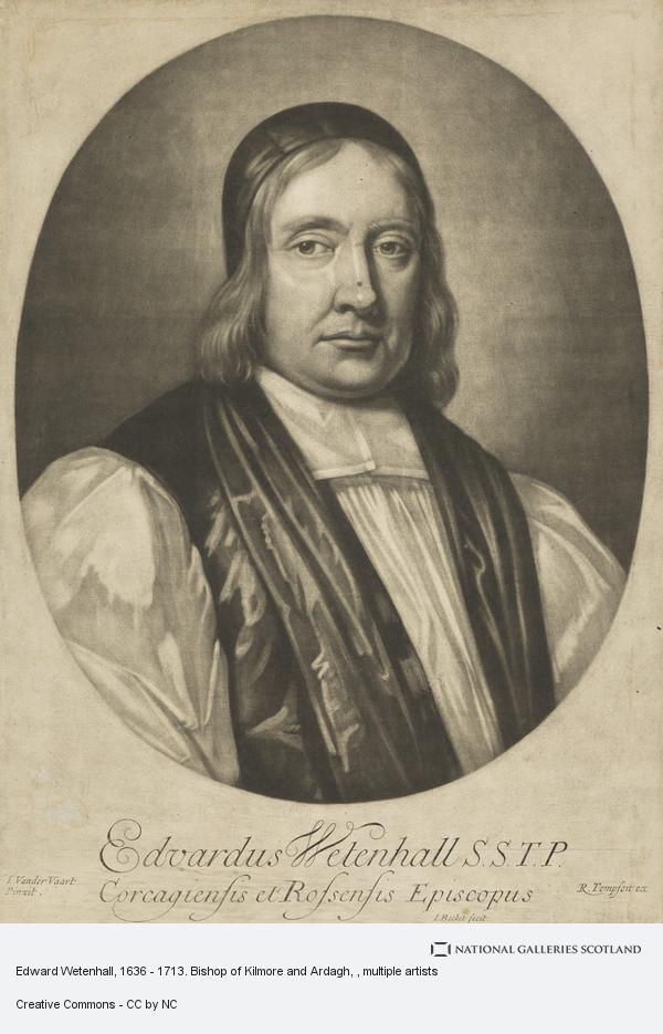 Isaak Beckett, Edward Wetenhall, 1636 - 1713. Bishop of Kilmore and Ardagh