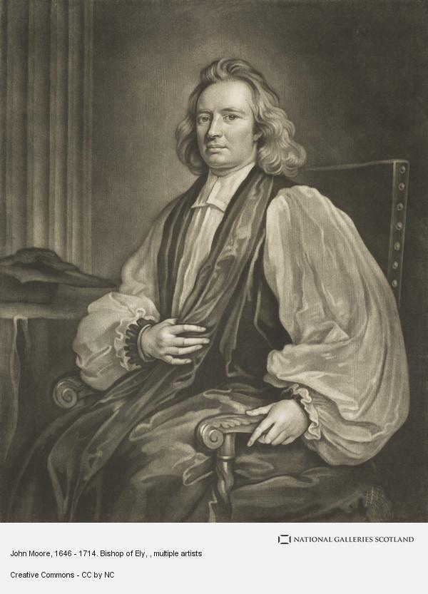 William Faithorne, John Moore, 1646 - 1714. Bishop of Ely