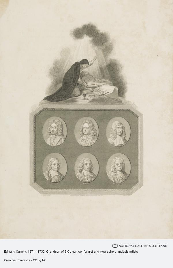Thomas Holloway, Edmund Calamy, 1671 - 1732. Grandson of E.C.; non-conformist and biographer
