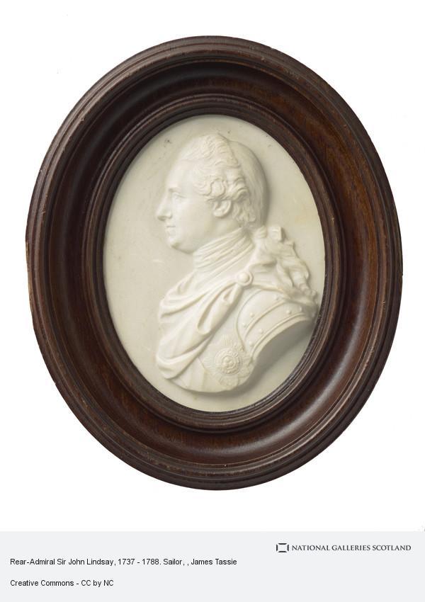 James Tassie, Rear-Admiral Sir John Lindsay, 1737 - 1788. Sailor