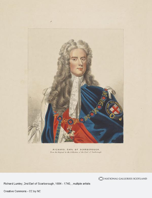 Unknown, Richard Lumley, 2nd Earl of Scarborough, 1684 - 1740