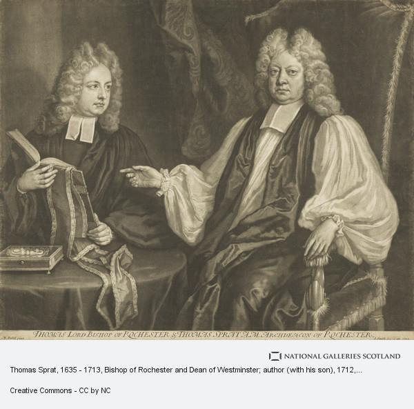 John Smith, Thomas Sprat, 1635 - 1713, Bishop of Rochester and Dean of Westminster; author (with his son)