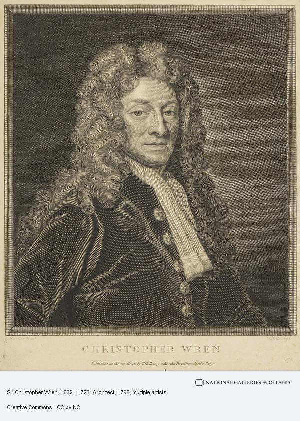 Thomas Holloway, Sir Christopher Wren, 1632 - 1723. Architect