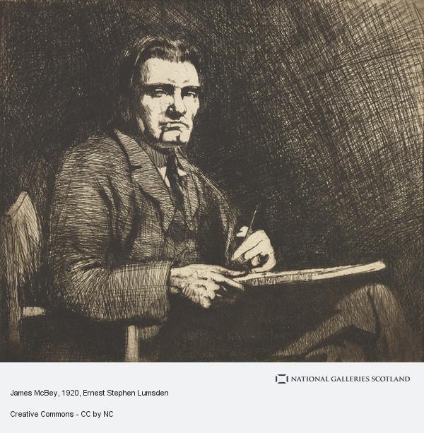 Ernest Stephen Lumsden, James McBey