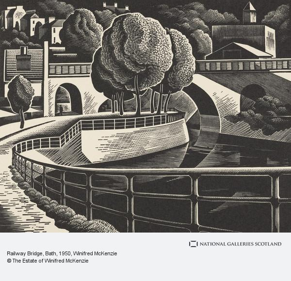 Winifred McKenzie, Railway Bridge, Bath