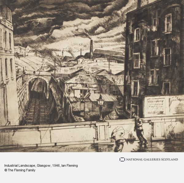 Ian Fleming, Industrial Landscape, Glasgow