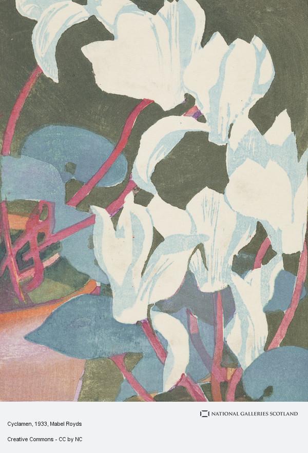 Mabel Royds, Cyclamen