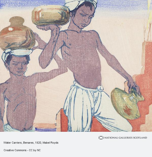 Mabel Royds, Water Carriers, Benares
