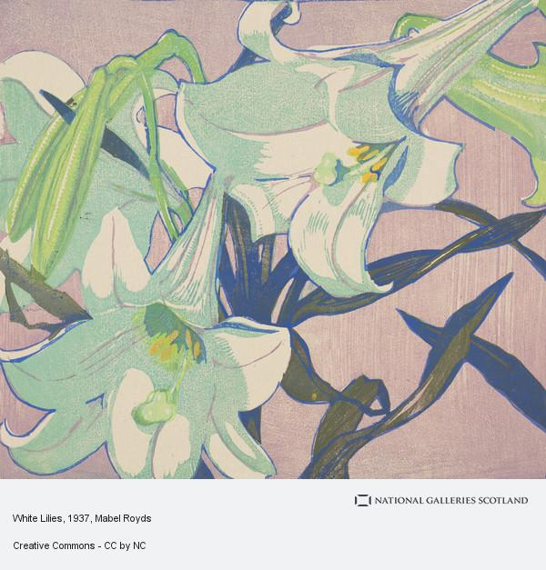 Mabel Royds, White Lilies