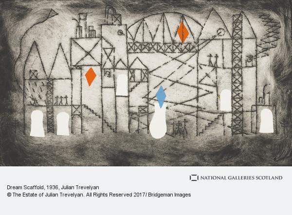 Julian Trevelyan, Dream Scaffold