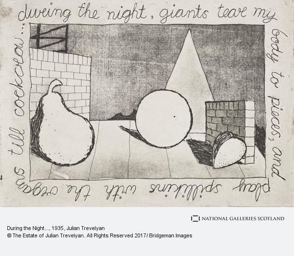 Julian Trevelyan, During the Night...