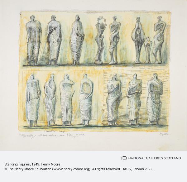 Henry Moore, Standing Figures